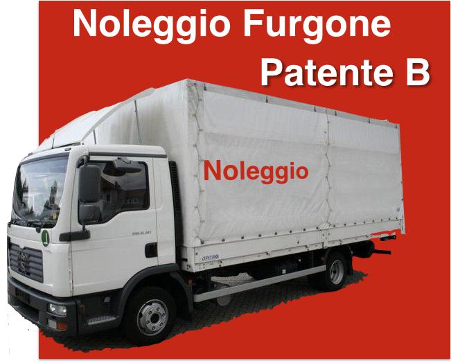 NOLEGGIO FURGONE PER SGOMBERI E TRASLOCHI